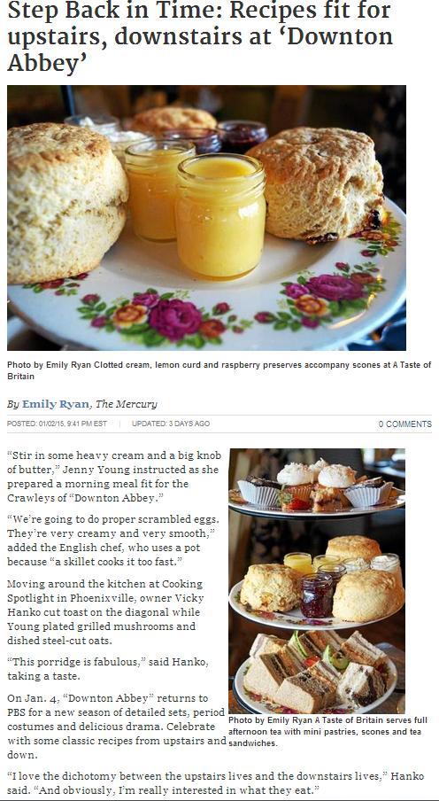 Downton Abbey Article pg 1