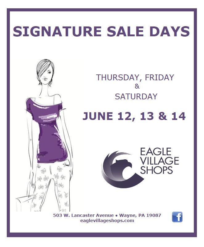 Signature sale days